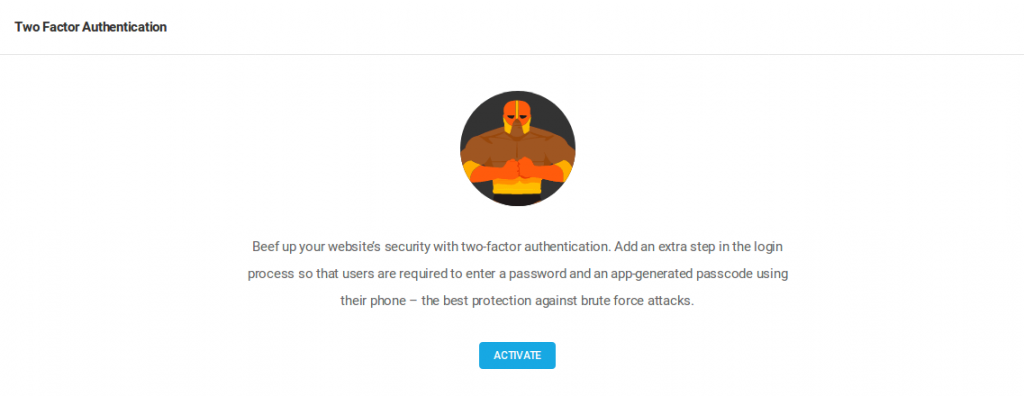 ow to reset Two Factor Auth settings using