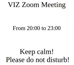 VIZ, Very Important Zoom