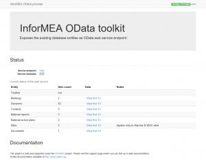 InforMEA OData toolkit